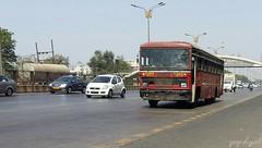 Thane  panvel (yogeshyp) Tags: msrtc city bus msrtccitybus