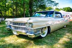 1964 Cadillac Coupe de Ville (hz536n/George Thomas) Tags: deer acres 2016 cs5 canon canon5d coupedeville ef1740mmf4lusm hdr michigan pinconning summer cadillac carshow copyright linwood nik upnorth deeracres