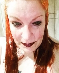 Drowned rat (Luna_C!) Tags: notiphoneography justme redhead shower