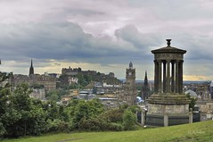 CALTON HILL (rafasalcines) Tags: scotland bagpiper royal mile edinburgh skye castle landscapes calton hill