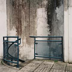 * (jubalharshaw) Tags: alexandra road estate london social housing texture wall staircase brutalist flats rolleiflex 35f fuji pro 400h scan high resolution