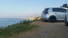 Volkswagen Golf V tuned (RamonRS6) Tags: volkswagen golf v tuned greece crete sea ocean