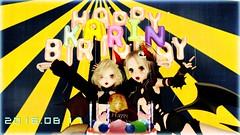 happy birthday Karin (Rencho Oh) Tags: secondlife birthday devil