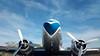 Varig (Gijlmar) Tags: brasil brazil brasilien brésil brasile brazilië portoalegre портуалегри riograndedosul américadosul américadelsur southamerica amériquedusud azul airplane varig airport aeroporto avião dc3 blue bleu blau céu sky