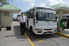 Randolfe Wicker aka Randy Wicker arriving at Marigot taxi terminal in Collectivité de Saint-Martin France French side of the island of Saint Martin FWI French West Indies (RYANISLAND) Tags: france french saintmartin stmartin saint st collectivity martin collectivityofsaintmartin collectivité collectivitédesaintmartin marigot frenchcaribbean frenchwestindies thecaribbean caribbean caribbeanisland caribbeanislands island islands leewardislands leewardisland westindies indies lesserantilles antilles caribbees