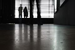 static (MidWorldMo) Tags: birmingham ikongallery brindleyplace ilvinaskempinas oozellsstreet exhibition art installation moon magnets metal light dark culture creative reflection birminghamphotographer birminghamphotography
