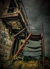 DARK SKYS (timmb15) Tags: decay urbex fort kent cliffe cliffefort dark grunge