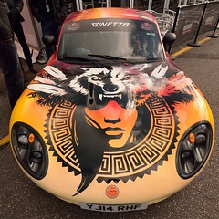 Ginetta Supercup (35mmMan) Tags: btcc brandshatch 2016 motorracing autosport nikon d5300 dslr ginetta sportscar amigos beer tequila advert supercup