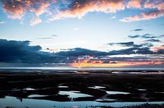 Pools (Nick Barkworth) Tags: ricohgr beach sea sunset sky clouds tide