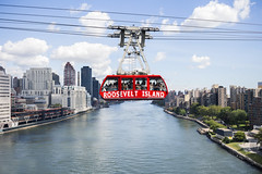 Roosevelt Island Tram (salserasara) Tags: rooseveltisland rooseveltislandtramway cablecar nyc newyorkcity newyork aerialtram america usa unitedstatesofamerica manhattan red water hudson river tram publictransportation mta skyhigh queensborobridge edkochqueensborobridge eastriver