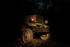 old tractor (Alex.Sebastian.H) Tags: alexsebastianh night photography tractor light nikond610 shadow nikkor2470 nightshot