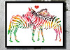 Zebras Watercolor Print Archival Fine Art Print Children room decor Watercolor painting Art Home decor African Animal Watercolor Zebras love (bogiartprint) Tags: artandcollectibles painting watercolor nurseryart artwatercolor animalwatercolor animalillustration animalpainting zebra arthomedecor zebrawatercolor zebraposter zebraillustration zebrapainting africanart