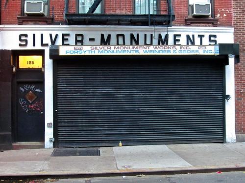 Silver Monuments, New York, NY