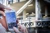 Stolen shot (robyf80) Tags: close gasometro rome smartphone shot sky particular