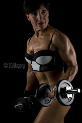 Roxana Frutos - INBA NSW State Champion Masters 50 (CGiMagery) Tags: approved flex muscle weights bodybuilding healthy fit lifestyle inba masters masters50nswstatechampion lowkey elinchrom sydneyaustralia studio rx600s sb900 grids nikon nikond500 tamron2470mm28 sexy fitnessphotography cgimagery naturalbeauty nophotoshop portrait