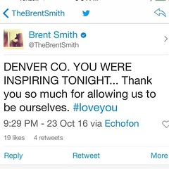 Via #BrentSmith: #Shinedown #Denver (ShinedownsNation) Tags: shinedown nation shinedowns zach myers brent smith eric bass barry kerch