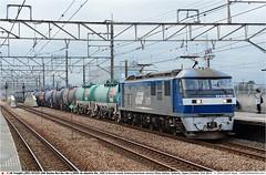 JRF_EF210-163GB_211014 (Catcliffe Demon) Tags: japan railways bobobo jrf momotaro electriclocomotive jrfreight jotc saitamaprefecture jr 1500vdc 1500v ef210100 japanrailimages2014