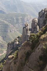 rock formation (Val in Sydney) Tags: mountain montagne spain catalonia espana montserrat catalunya espagne