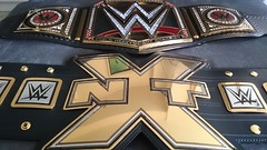 (imranbecks) Tags: logo championship belt big x replica network title wwe nxt