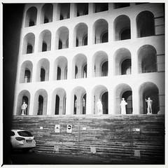 the Palazzo della Civiltà Italiana. Rome