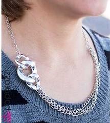 5th Avenue Silver Necklace K1 P2210-4