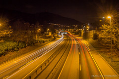 Streets of Bergen, Norway (Sladjan S) Tags: norway night canon long exposure bergen 700d