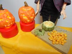 (Crazy Aunty) Tags: food halloween miniatures miniature dolls crafts pumpkins barbie creazioni cibo tutorial zucche bambole crazyaunty