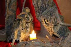 La sculpte. (Dik) Tags: en de temple la au images exposition ou fte et petite mots vers chandeleur jsus ronde 2015 prsentation cheminement crches enfantines dike
