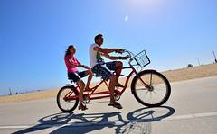 USA_237 (jjay69) Tags: california travel vacation usa holiday beach bike america fun cycling coast la us losangeles ride unitedstates relaxing bikes cruising roadtrip journey hollywood biking relaxed lalaland ridingbikes santamonicaboulevard