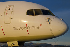 N901FD, Boeing 757-2B7SF, FedEx, OSL 13.12.2014 (Skidmarks_1) Tags: norway airport aircraft aviation cargo fedex airliners osl freighter boeing757 engm oslogardermoenairport n901fd