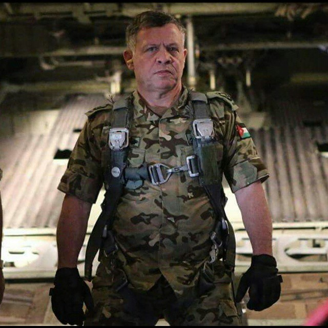 King Abdullah of Jordan leads strikes on Isis personally.