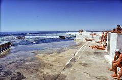 graaff's pool, sea point, cape town. nude. men only. the pic was taken late nineties (old slide scan). it got partly demolished late 2000s. (francois f swanepoel) Tags: 1989 capetown graaff graaffspool menonly nude nudemen seapoint southafrica apartheid morality immorality cruise cruising malenudes interracial davidgraaff johngraaff nudity rentboys blackieswart crswart menpnly