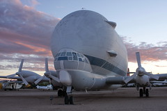 1412-PimaAir-016 (musematt11) Tags: arizona plane airplane desert tucson dusk aircraft transport az nasa c97 pimaairandspacemuseum superguppy stratocruiser