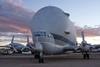 1412-PimaAir-016 (musematt11) Tags: arizona plane airplane desert tucson dusk aircraft transport az nasa c97 pimaairandspacemuseum superguppy stratocruiser