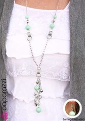 Glimpse of Malibu Green Necklace K2 P2820-4