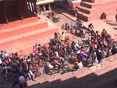 Kathmandu Street Traffic