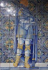 knee guards worth seeing big! (Wendy:) Tags: ceramics palace tiles di monte gladiator piet savona kneeguards ceramicmuseum