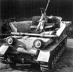 Flakpanzerkampfwagen IV Möbelwagen<br />Sd.Kfz.161/3