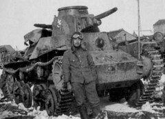 """Imperial Japanese Army Tank<br />Type 95 """"Hago"""""""