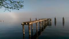pier dock waterfront florida lakemonroe mobilephotography... (Photo: Daniel Piraino on Flickr)