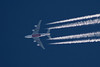 Emirates A380 over Cleveland (chrisjake1) Tags: contrail altitude emirates airbus a380 a380800 a388 a6eeq