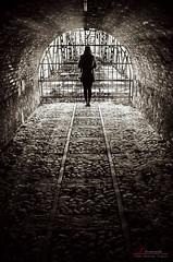 Jailed (_Hadock_) Tags: desktop light wallpaper bw woman white black blanco luz sol nature girl de jaula photo nikon y image negro screen jail rays tamron 18200 fondo cantabria psicologia pantalla jailed rayos iphone saver carcel walpaper barrotes cargadero berja psicology encadenada mioo d5100