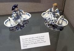 Minnetrista 07-29-2014 - Porcelin saltcellars (David441491) Tags: heritage dish salt muncie minnetrista saltcellar porcelin