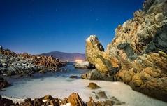 The Beach (Bluebelier - Loves Juliet) Tags: ocean chile longexposure sea costa beach southamerica night stars noche coast coquimbo mar playa estrellas oceano sudamerica largaexposicion lagunillas alvarorojas belierphotostudio