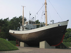 Old Boat of the Baltic
