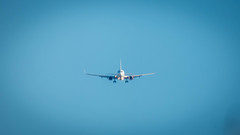 Aéroport de Marignane (ma_thi_eu) Tags: sky airplane lumix marseille ciel provence marignane avion airfrance étang aéroport berre fz72