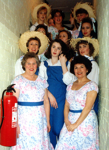 1991 Mother Goose 01 (front left Rita Hampton, Ann Brothers, second row Linda Ellis,x,Sally Capp)