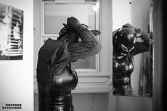 m: Dani Doomsday   p: Devious Behaviour (FadeToThirteen) Tags: girl leather fetish doll mask boots cd rubber heels latex corset hood gasmask lipstick feminization rubberdoll dollification flickrandroidapp:filter=none unmasking2014danidoomsdaydeviousbehaviourmatthewphotographyziorjen