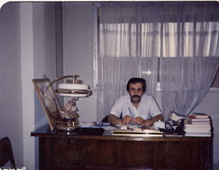 DR. Mehdi at his office (reza fakharpour) Tags: family iran iranian iranians