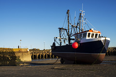 Folkestone - Boy Callum (Elly O'Reilly) Tags: folkestone harbour boy boycallum boat callum magic magichour contrast light dark colourful beautiful pretty seaside sand low tide lowtide explore explored